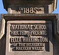 Plaque, Malvern Wells C.of E. Primary School - geograph.org.uk - 702076.jpg
