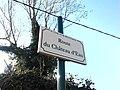 Plaque Route Château Eau St Cyr Menthon 2011-11-23.jpg