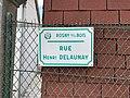 Plaque Rue Henri Delaunay - Rosny-sous-Bois (FR93) - 2021-04-15 - 2.jpg