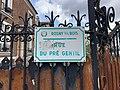 Plaque Rue Pré Gentil - Rosny-sous-Bois (FR93) - 2021-04-15 - 2.jpg
