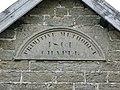 Plaque above door of Primitive Methodist Chapel - geograph.org.uk - 531358.jpg