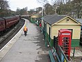 Platform, Pickering station, view North - geograph.org.uk - 1772729.jpg