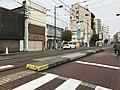 Platform of Sumiyoshi-Toriimae Station 4.jpg