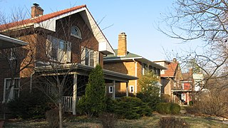 Pleasanton in Irvington Historic District historic district in Indianapolis, Indiana, USA