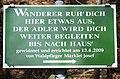 Poertschach Bannwaldweg Adler-Rast Gedenktafel 03032014 768.jpg