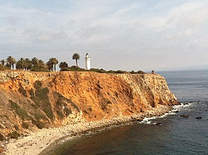 Rancho Palos Verdes, California - Point Vicente lighthouse, near the Point Vicente Interpretive Center in Rancho Palos Verdes