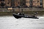Police boat during the Boat Race in spring 2013 (1).JPG