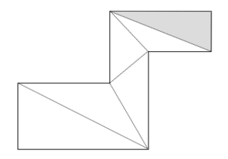 Polygon triangulation - A polygon ear
