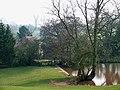 Pool and Cottage, Murdeford, Shropshire - geograph.org.uk - 621998.jpg