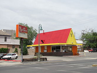 Pup 'N' Taco - Pop 'N' Taco on Route 66 in Albuquerque, New Mexico in 2010