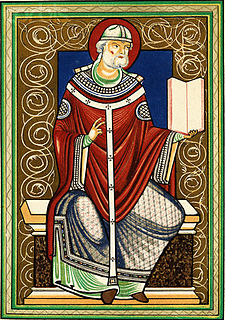 Pope Gregory I Medieval pope from 590 to 604