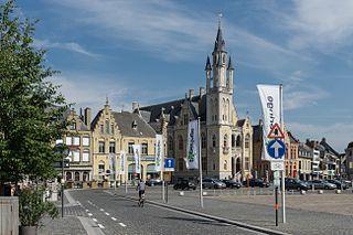Poperinge Municipality in Flemish Community, Belgium