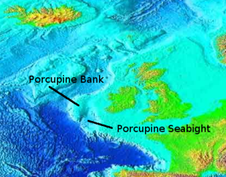 Porcupine Seabight A deep-water oceanic basin on the continental margin of the northeastern Atlantic