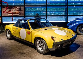 Porsche 914-6 GT Motor vehicle