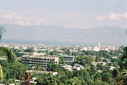Utsyn over Port-au-Prince