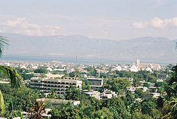 Zicht op Port-au-Prince