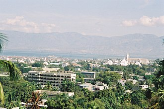 Economy of Haiti - Port-au-Prince, the financial centre of Haiti