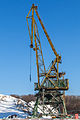 Port crane in Moscow North River Port 10-feb-2015 03.jpg