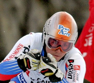 Thomas Fanara French alpine skier