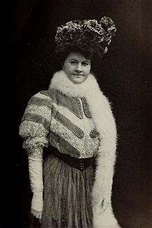 Portrait of Ellen Glasgow, by Aimé Dupont