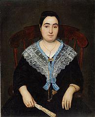 Portrait of Gracieuse Molliere Atkinson