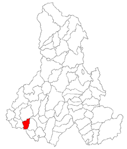 Location of Porumbeni
