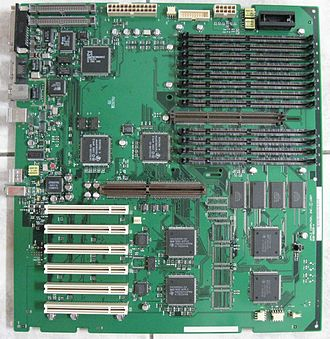 Power Macintosh 9600 - Power Macintosh 9600 logic board