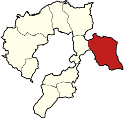 Gmina Porąbka within the Bielsko County