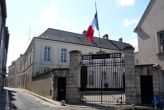 Eure-et-Loir - Hôtel de Ligneris (1795), Prefecture building of the Eure-et-Loir department, in Chartres