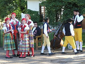 Demographics of the Czech Republic - Czech national costumes from Western Bohemia (Chodsko Region)