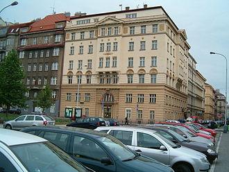 Prague 5 - Town hall of Prague 5