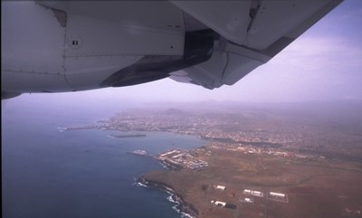 Praia aerialview