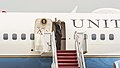 President Obama departs for Sooner State aboard Air Force One 150715-F-WU507-147.jpg