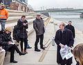 Pressekonferenz zu den archäologischen Grabungen am Rheinboulevard Köln-Deutz-5030.jpg