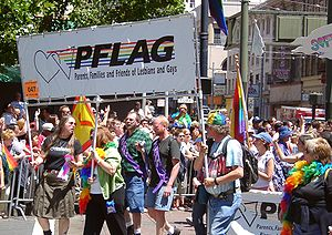 PFLAG contingent at San Francisco Pride 2004.