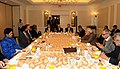 Prime Minister Modi holds a breakfast meet with CEOs in New York City.jpg