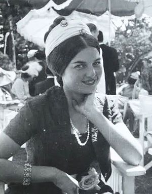 Diane, Duchess of Württemberg - Princess Diane in 1964