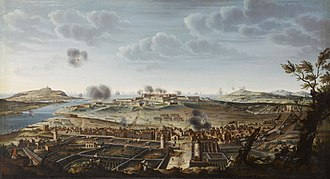 Battle of Minorca (1756) - Attack and capture of Fort St. Philip on the island of Minorca, 29 June 1756, after the naval battle.