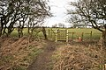 Public Footpath and Gate - geograph.org.uk - 1166248.jpg