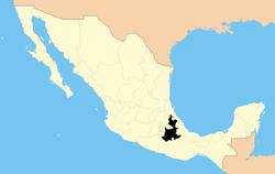 Bang Puebla trong Mexico