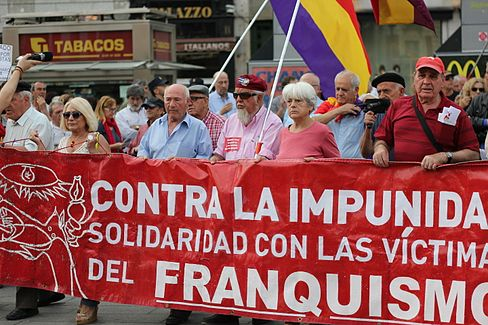 Puerta del Sol Franco Protest May 15 2014 02.JPG