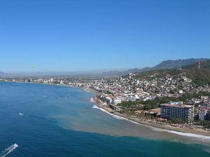 Puerto Vallarta vue du ciel