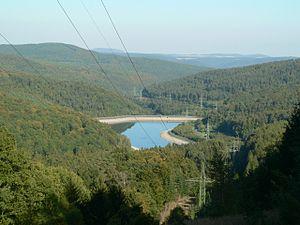 Langenprozelten Pumped Storage Station - Image: Pumpspeicherkraftwer k 2