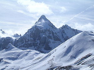 Escarra Peak - Image: Punta Escarra