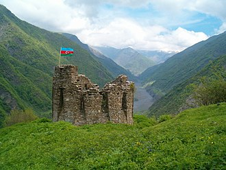 Qakh District - Image: Qalacha