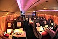 Qatar Airways Boeing 777-200LR Business Class cabin Beltyukov.jpg