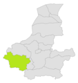 Qaysar district location in map of Faryab province.png