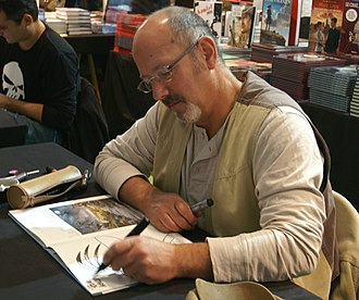 Amerzone - Amerzone is based on a 1986 comic by Benoît Sokal, pictured here autographing a comic at a convention in 2010.