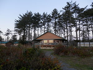 La Push, Washington - Cabin at Resort in La Push