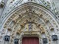 Quimper 20 Cathédrale Portail latéral sud.jpg